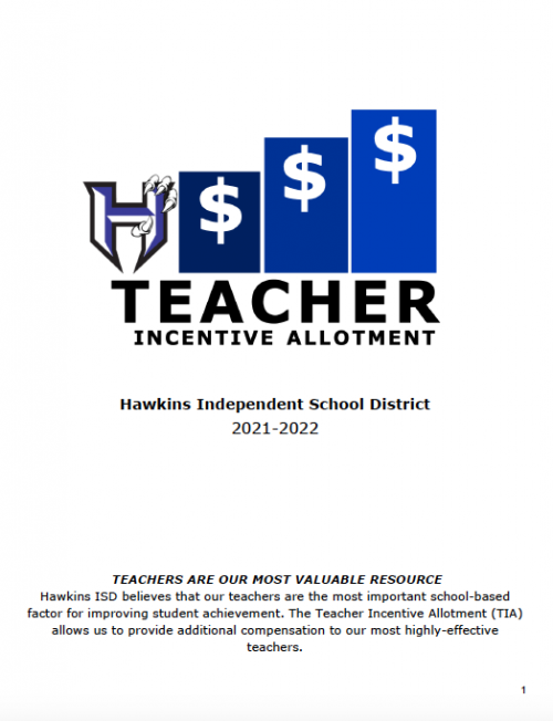 Teacher Incentive Allotment Guide