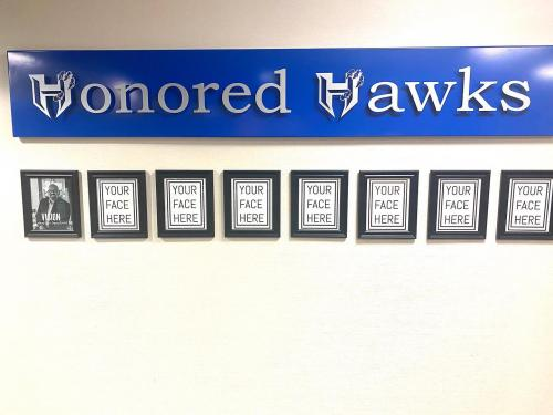 Honored Hawk Wall