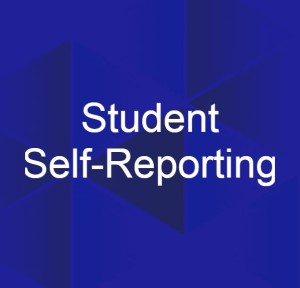 student self-reporting