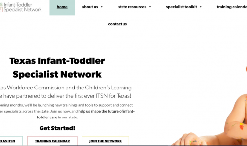 Texas Infant-Toddler Specialist Network