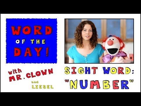 Mr. Clown's Word of the Day