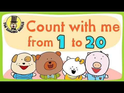 Count with me from 1 to 20