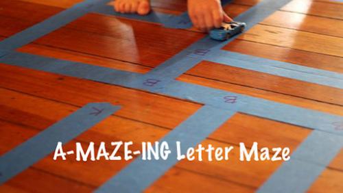 letter maze