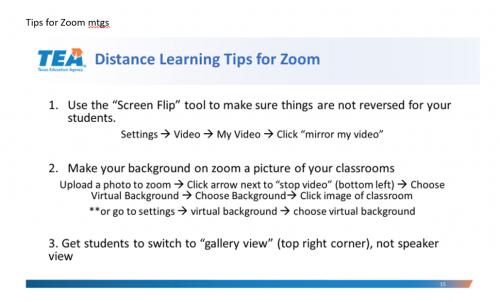 tips for zoom meetings