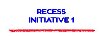 Recess Initiative 1