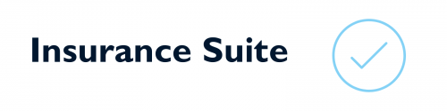 Insurance Suite with check mark in circle.