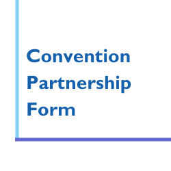 Image says Convention Partnership Form