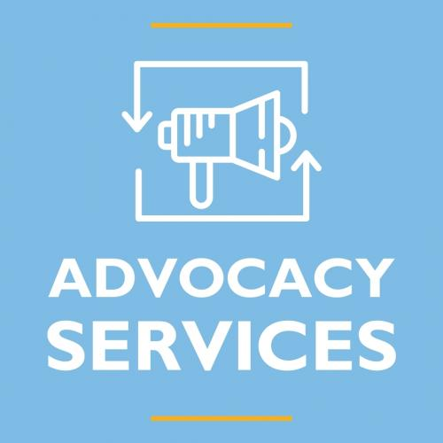 Advocacy Services Graphic