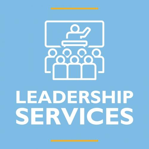 LEADERSHIP SERVICES GRAPHIC