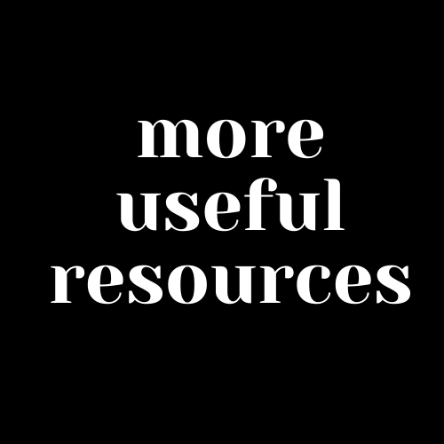 More Useful Resources