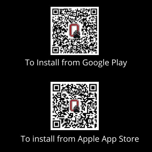Olney ISD app QR Codes