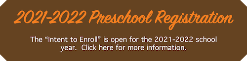 21.22 Preschool Registration