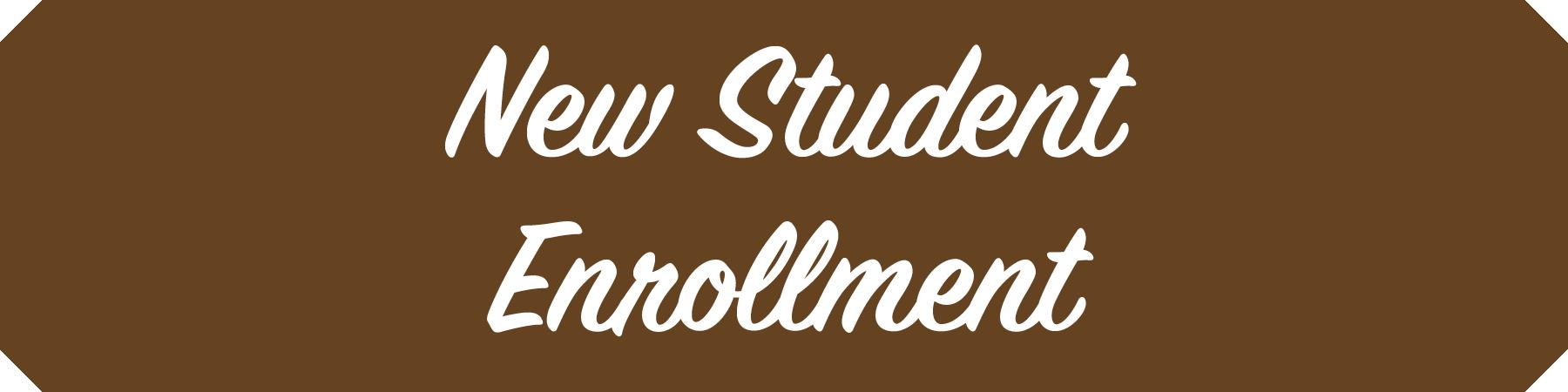 New Students Enrollment