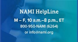 NAMI Suicide Help Line