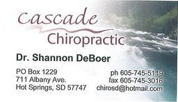 Cascade Chiropractic logo