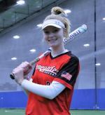 Pitcher/1st Base #33  Caiya Stucky photo