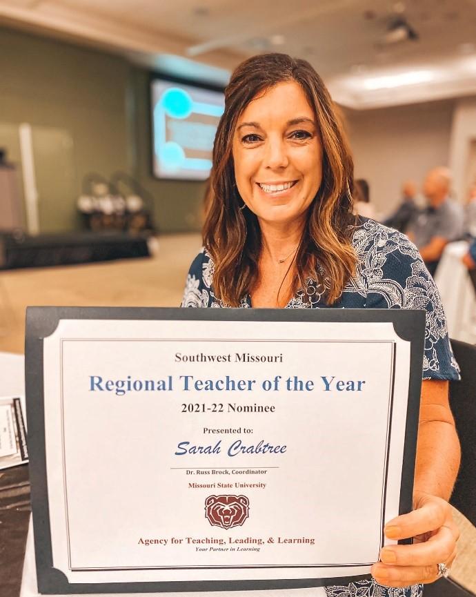 Sarah Crabtree Award