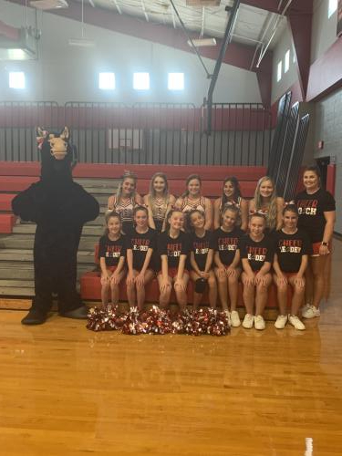 Middle School Cheer Camp Photo