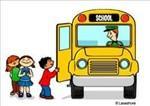 kids getting on bus