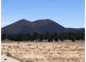 Sunset Crater National Park. This is a dormant volcano.