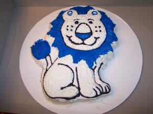 Lion Cake that I made.