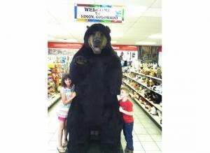 The kids with the bear in CO.