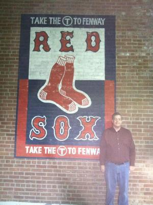 My husband and I attended a game at Fenway Park in June. The Red Sox won!