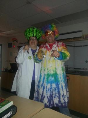 A couple of Mad Scientists!
