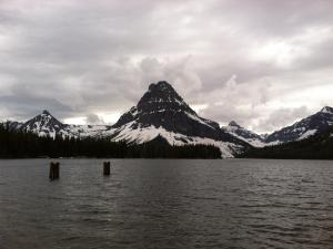 Two Medicine Lake at Glacier National Park.