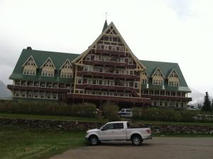 The Prince of Wales Hotel in Waterton, Canada.