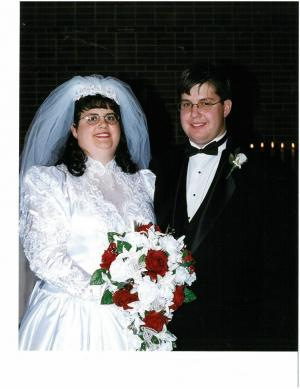 My Wedding Day in 1999.