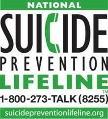 suicide prevention hotline 18002738255 suicidepreventionlifeline.org
