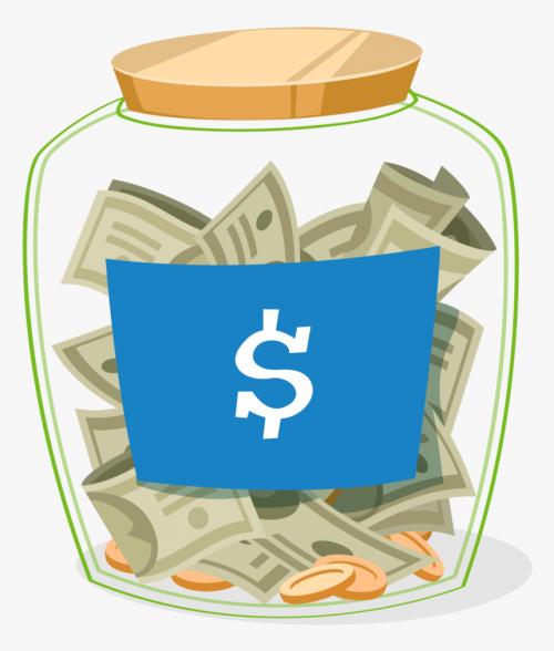 Money Jar clipart