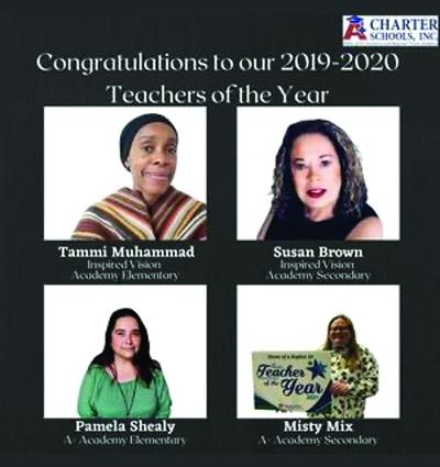Congratulations to our 2019-2020 Teachers of the Year!