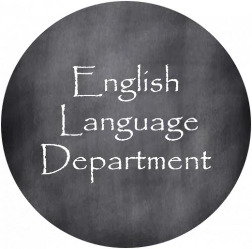 English language arts department