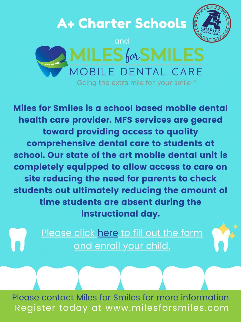 Miles for smiles logo