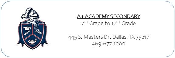 A+ Secondary