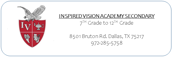 inspired vision secondary