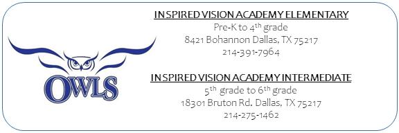 inspired vision elementary