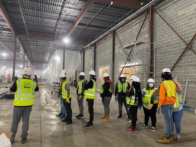 ECAC Students Explore Careers in Construction