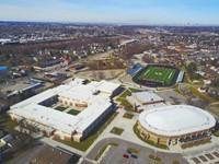 Landscape View facing Athletics Department