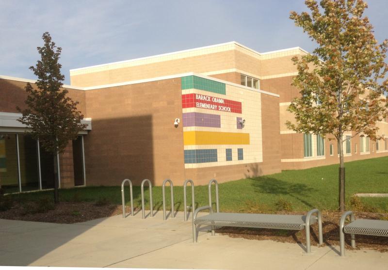 Landscape View facing Barack Obama Elementary School