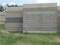 Landscape View facing Milkovich Middle School