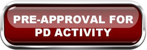 Pre-approval for PD Activity Form
