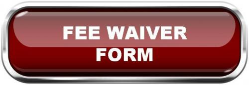 Fee Waiver Form