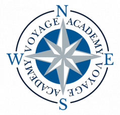 An image that welcomes users to contact Voyage Academy