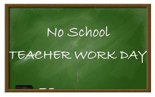 No School Monday, November 1st