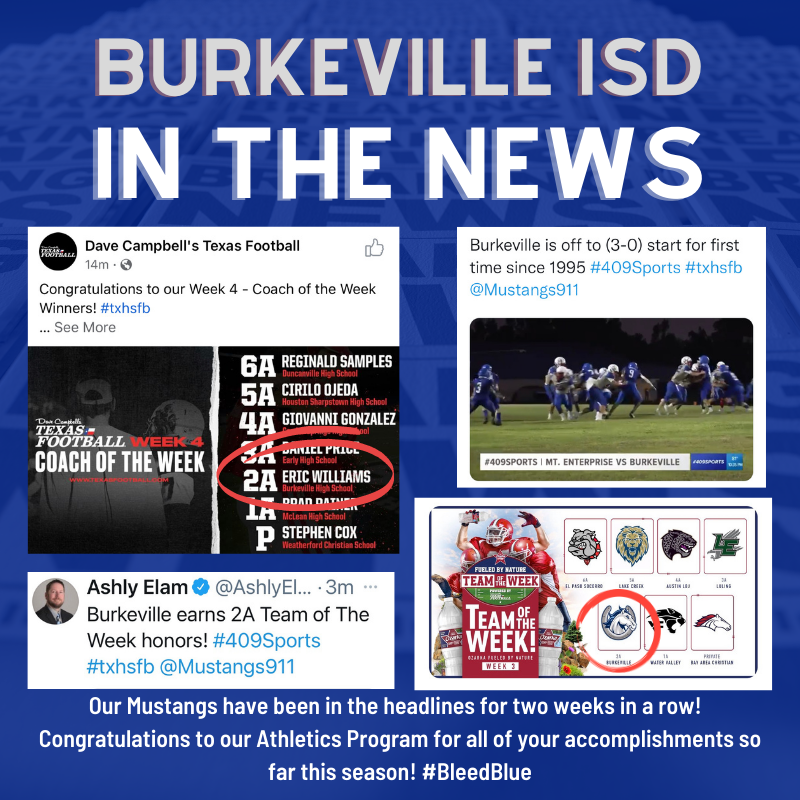 Mustangs in the News