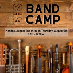 BHS Band Camp
