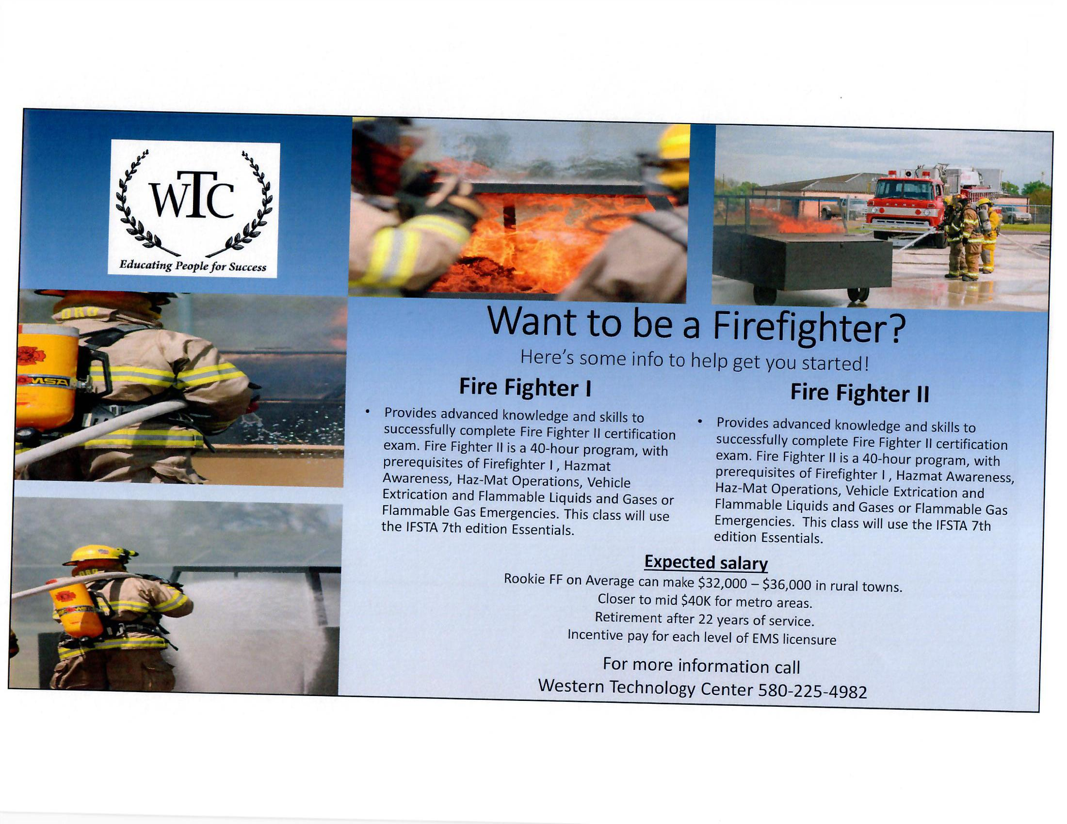 Firefighter Fact Sheet